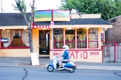 Street view of Zouave restaurant